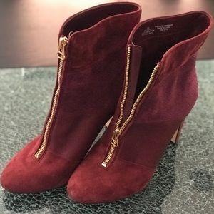 Anne Klein Women's Mahogany Boots